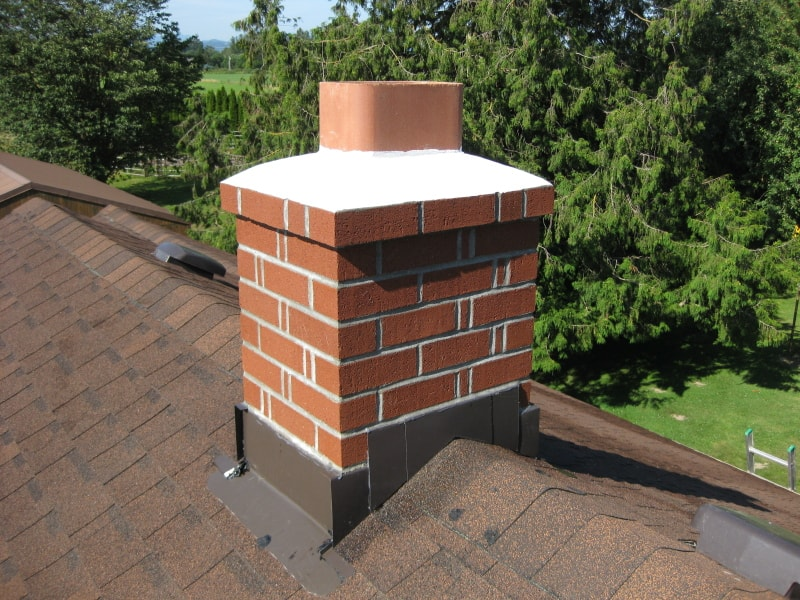 cap on the chimney
