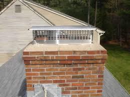 Chimney Cap On Chimney Roof