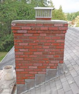 Chimney cap On Roof